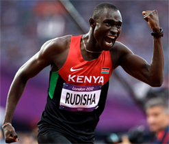 David Rudisha wants to meet Sachin Tendulkar