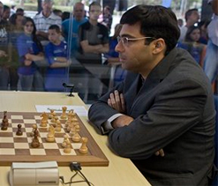 Anand to face Karjakin in fourth round of Chess Masters