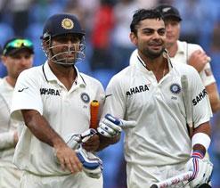 Virat Kohli showed excellent temperament, says skipper MS Dhoni