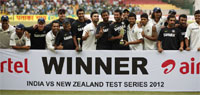 India beat New Zealand in second Test to clinch series 2-0
