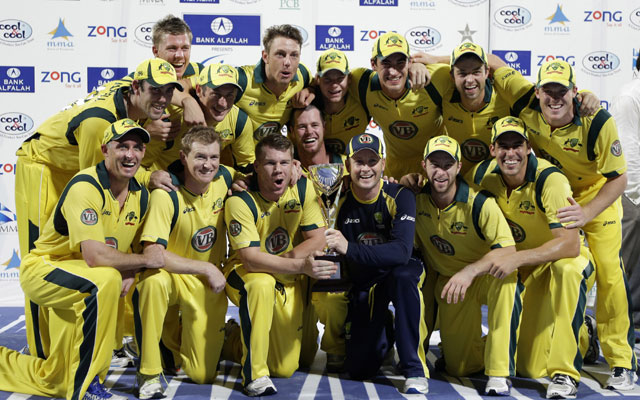 Australia defeat Pakistan in the final ODI to claim series