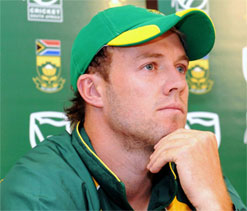 De Villiers says ODI top spot not in Proteas' minds during England tour