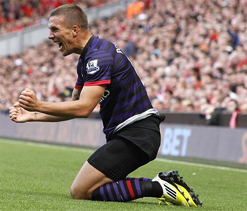 Arsenal can be title contenders: Lukas Podolski