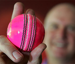 South Africa tests pink balls in day/night games
