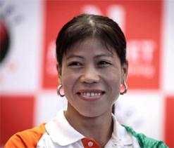 Take me as example and don`t give up: Mary Kom