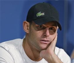 Andy Roddick retires after loss to Martin del Potro at US Open