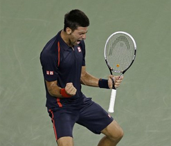 US Open: Novak Djokovic gets past del Potro to reach semis