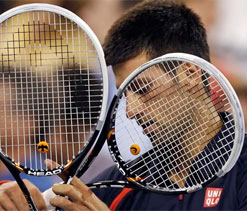 Djokovic says he can't be friends with, Murray, Nadal or Federer