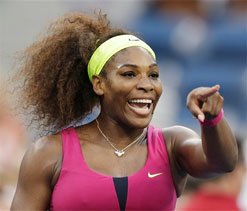 US Open: Serena Williams eases past Sara Errani to reach final