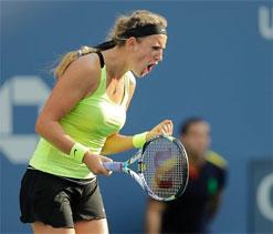 US Open: Azarenka overcomes Sharapova to march into final