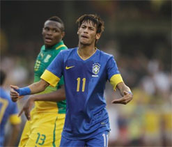 Lack of support from Brazil fans is upsetting: Neymar