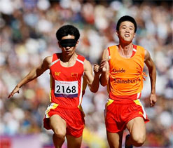 China makes history at Paralympics