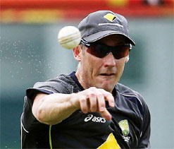 David Hussey 'pining for baggy green' during Australia's tour to India
