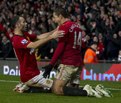 EPL: Wigan Athletic vs Manchester United - Preview