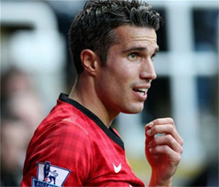 Man Utd still on track for title: Van Persie