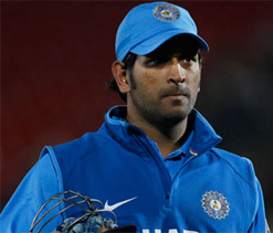 Dhoni in no mood to step down as captain