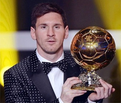 Messi hopes to win another Ballon d`Or