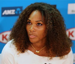 Serena Williams enjoying purple patch