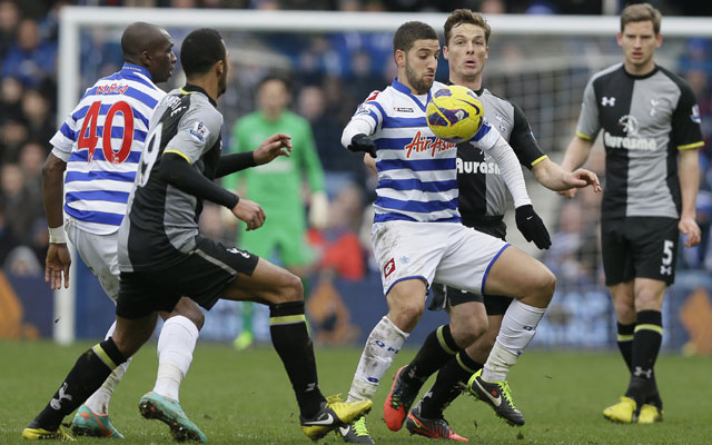 QPR and Tottenham play out a 0-0 draw