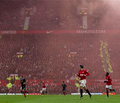 Man Utd's iconic Old Trafford stadium is teeming with rats!