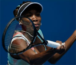 Venus Williams in second round of Australian Open
