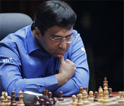 Anand draws with Giri; Harikrishna scares Caruana