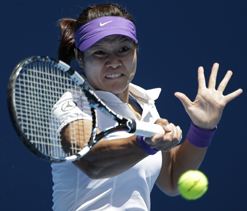 Radwanska, Li lead women into third round