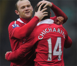 Chicharito confused by Wayne Rooney`s accent