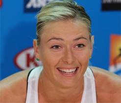 Sharapova says dating fellow tennis star is manageable