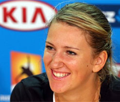 Tennis star Victoria Azarenka dating LMFAO`s Redfoo?