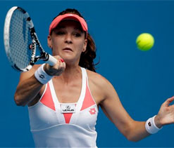 Australian Open 2013: Angieszka Radwanska in fourth round