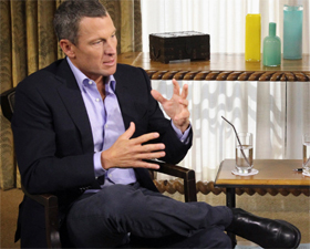 One big lie, confesses Armstrong on Oprah show