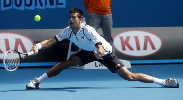 Australian Open 2013: Novak Djokovic beats Radek Stepanek in third round