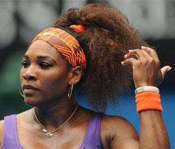 Serena Williams 'happy not to lose teeth'