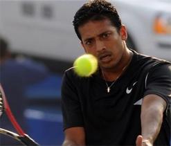 Australian Open: Bhupathi wins but Bopanna loses