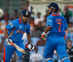 Raina asked me to bat up the order: Dhoni