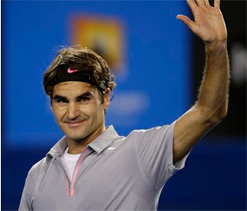 Australian Open: Federer notches straight-sets win over Tomic