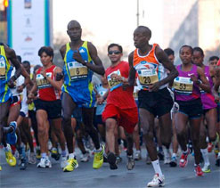 African runners set to dominate Mumbai Marathon