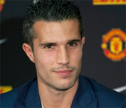 I`m surrounded by champions: Van Persie