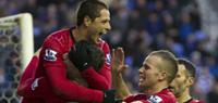 Van Persie fires twice as Manchester United defeat Wigan 4-0