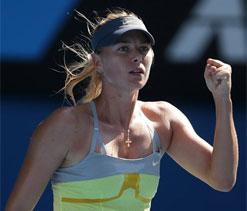 Australian Open 2013: Maria Sharapova sails into quarters