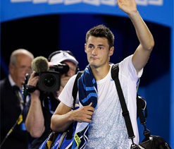 Tomic vows to pay heed to master Federer's advice for 2013 season