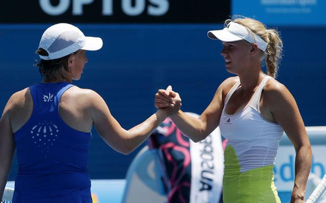 Caroline Wozniacki crashes out of Australian Open