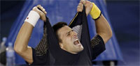 Australian Open 2013: Novak Djokovic defeats Wawrinka in epic five-setter