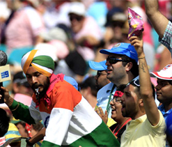 Fans show encouraging response for Mohali ODI