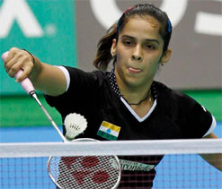 Saina Nehwal aiming for top slot this year