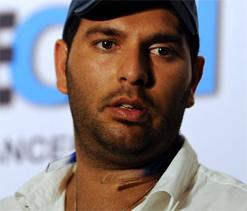 Yuvraj Singh skips practice due to