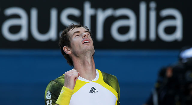 Australian Open: Andy Murray outclasses Jeremy Chardy to reach semis