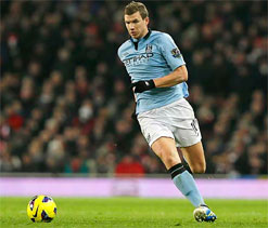 Edin Dzeko not leaving Manchester City