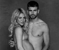 Barcelona defender Gerard Pique becomes a father